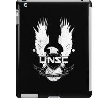 UNSC Logo White iPad Case/Skin