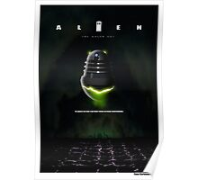 ALIEN THE DALEK CUT Poster