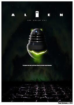 ALIEN THE DALEK CUT by ToneCartoons
