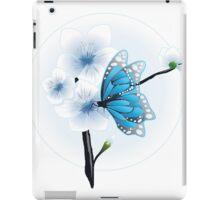 Joy Of Spring Case - Spring Blossom & Blue Butterfly iPad Case/Skin