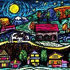 Moonlight Stroll by Monica Engeler