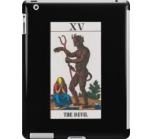 The Devil Tarot iPad Case/Skin
