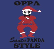 ★ټOppa Santa-Panda Style Hilarious Clothing & Stickersټ★ by Fantabulous