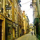 Backstreet in Blois by magicaltrails