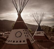Tipi at Sunset by Armando Martinez