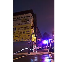 The Lights of Classon Avenue Photographic Print