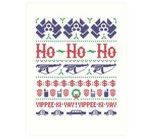 McClane Christmas Sweater Art Print