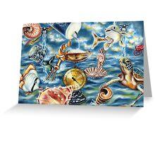 Recipe of Ocean Greeting Card