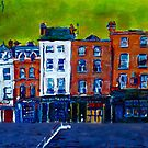 Arran Quay, Green Sky by eolai