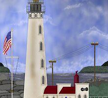 Home Port Lighthouse after Destruction Island Light by AVNorskog