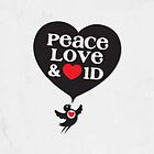 One Direction - Peace, Love & Heart 1D - iPad by Adriana Owens