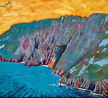 Slieve League, Donegal by eolai