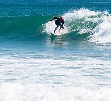 surfing by Anne Scantlebury