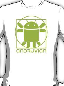 Vitruvian Droid (light green) T-Shirt