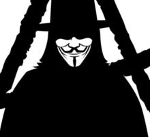 Anonymous Vendetta Sticker