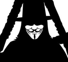 Anonymous Vendetta Anarchy Sticker