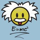 Smiley Einstein - E = mc² by hardwear