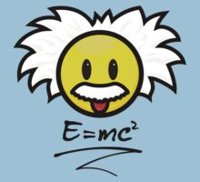 Smiley Einstein - E = mc² Kids Clothes