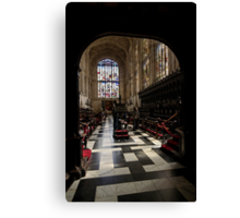 King's Interior 36 Canvas Print