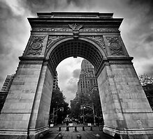 Washington Square Arch by Radharc21