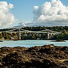 Menai bridge by Ian Richardson