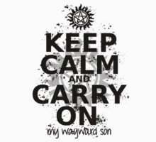 Keep Calm - SPN Style by alia-x