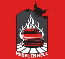 Rebell in Hell (for dark) Kids Clothes