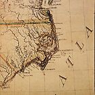 Cartography / declination by Andrew Pfendler