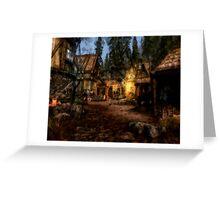 Quiet Little Village Greeting Card
