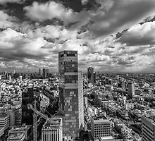 Tel Aviv high and above by Ronsho