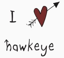 i heart hawkeye by quidditched