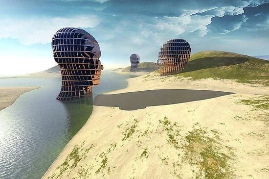 mesh island by vinpez