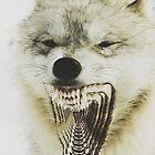 Trippy Wolf by mik3hunt