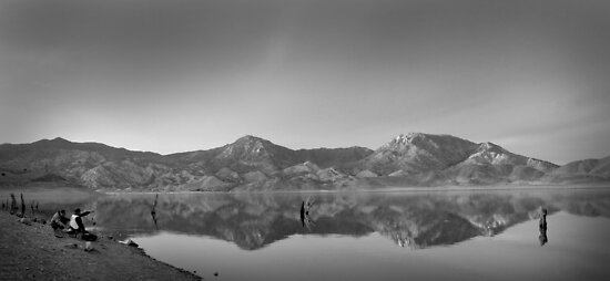 Fishing and Reflecting by Corri Gryting Gutzman