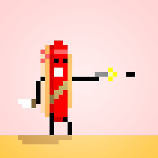 Hot Dog Commando by Justin Mair