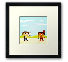 1891 (Cowboys and Indians) Framed Print