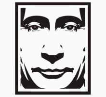 Putin OBEY by Tufflabel