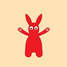 Red Rabbit by Mark Walker