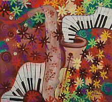 Jazz Flowers by Teodora Totorean