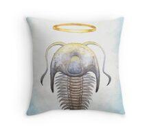 Trilobite Jesus Throw Pillow