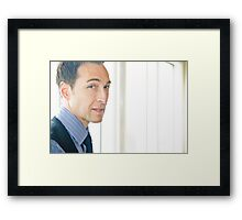 Tina and Andy 33 Framed Print