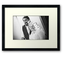 Tina and Andy 258 Framed Print