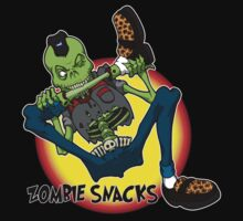 zombie snack by Psychobilly-Tee