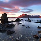 Elgol Sunset in November. Isle of Skye. Scotland. by photosecosse /barbara jones