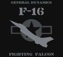 General Dynamics F-16 Fighting Falcon by Samuel Sheats