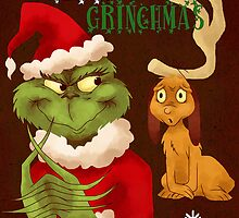 Merry Grinchmas by Lauren Draghetti