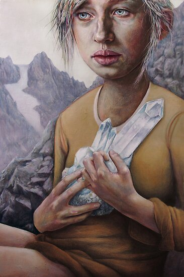 The Death of Crystallina by Michael  Shapcott