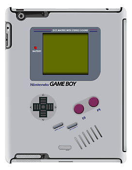 Retro Gameboy Original - (iPad) by Adam Angold