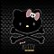 Hello Kitty Crossbones by Adam Angold