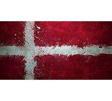 Denmark - Magnaen Flag Collection 2013 Photographic Print